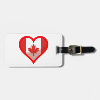 Kanada-Liebe Kofferanhänger