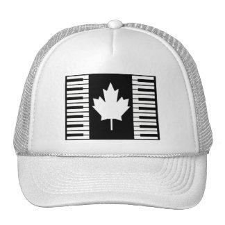 Kanada-Musiknoten Caps