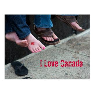 Kanada-Postkarte Postkarte