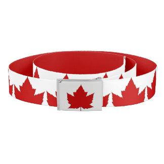 Kanada schnallt niedlichen Kanada-Ahorn-Blatt-Gurt Gürtel