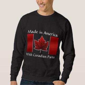 Kanada-Sweatshirt-Kanada-Flaggen-Sweatshirt Sweatshirt