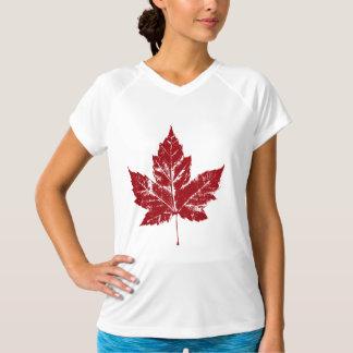 Kanada-T - Shirt plus Größe Kanada trägt Shirt zur