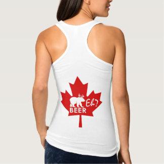 Kanada-TagesAhornblatt-Bier wie? Trägershirt Tank Top