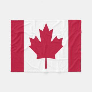 Kanada-Tagesflagge Throw-Fleece-Decke Fleecedecke