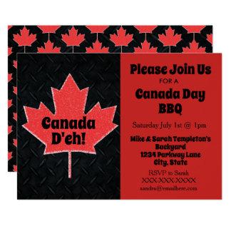 Kanada-TagesParty Einladungen