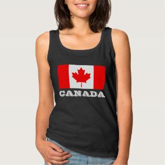 Kanada-TagesTrägershirts mit kanadischer Tanktop
