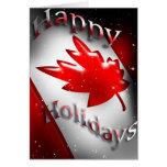 Kanada-Weihnachtskarte Grußkarten