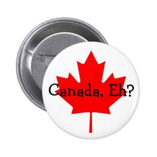 Kanada, wie? Knopf Runder Button 5,1 Cm