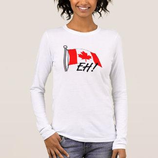 Kanada wie langärmeliges T-Shirt