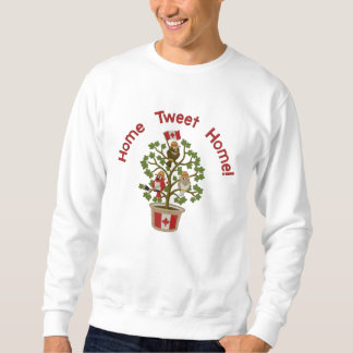 Kanada - Zuhause tweeten Zuhause! Besticktes Sweatshirt