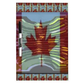 Kanadische Ahornblatt-Flagge Memo Board