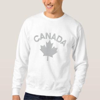 Kanadische Ahornblatt-Stickerei KANADA Pulli