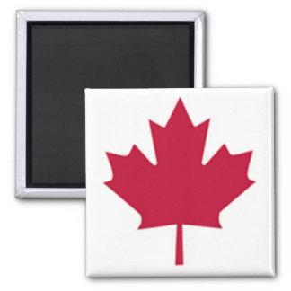 Kanadische Flagge Quadratischer Magnet