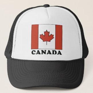 Kanadische Flagge Truckerkappe
