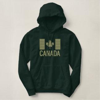 Kanadische Flaggen-Stickerei KANADA Bestickter Hoodie