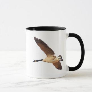Kanadische Gans, die #2711 fliegt Tasse