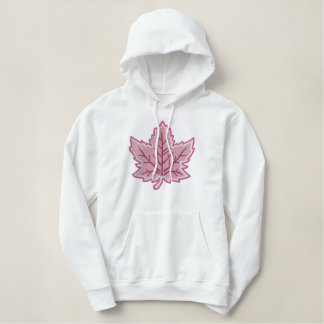 Kanadische Jahrestags-Stickerei Kanada Bestickter Hoodie