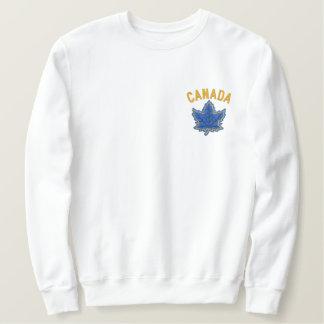 Kanadische Jahrestags-Stickerei Kanada Besticktes Sweatshirt