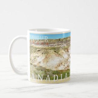 Kanadische Ödländer Drumheller panoramische Tasse