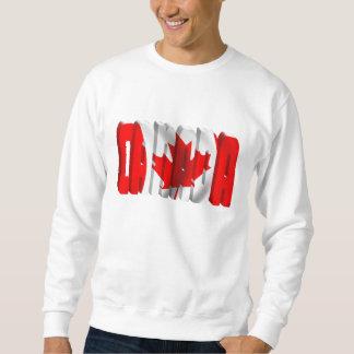 Kanadischer Flaggen-Text KANADAS Sweatshirt