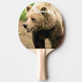Kanadischer Graubär Tischtennis Schläger