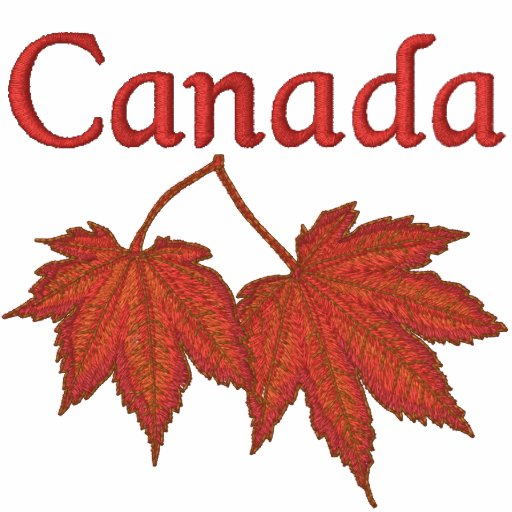 Kanadisches Ahorn-Blätter Polohemd