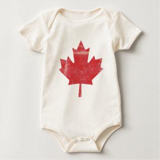 Kanadisches gemachtes Baby Baby Strampler