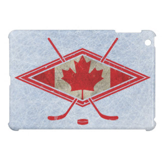 Kanadisches Hockey-Flaggen-Logo iPad Mini Hülle