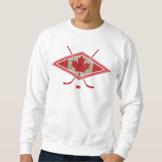 Kanadisches Hockey-Flaggen-Logo-Sweatshirt Sweatshirt