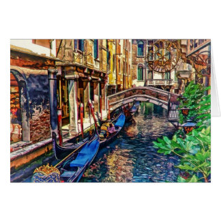 Kanal in Venedig Italien durch Shawna Mac Karte