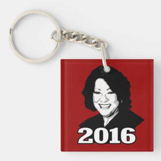 Kandidat 2016 SONIA SOTOMAYOR Schlüsselanhängern