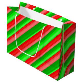 Kandiertes Weihnachten Große Geschenktüte