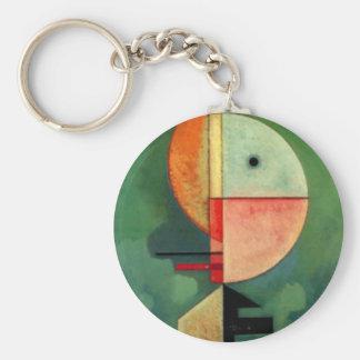 Kandinsky aufwärts abstrakte Malerei Schlüsselanhänger