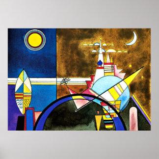 Kandinsky - das große Tor von Kiew Poster