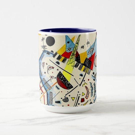 Kandinsky - das Meer und der Sun Tasse