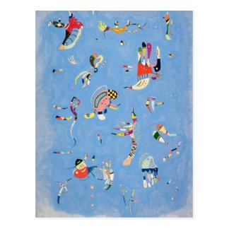 Kandinsky Himmel-Blau-Postkarte Postkarte