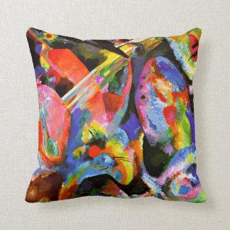 Kandinsky - Improvisations-Überschwemmung Zierkissen