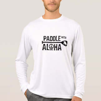 Kane Paddel mit Aloha überstürztem Schutz T-Shirt