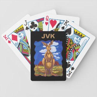 Känguru-Geschenke u. Zusätze Bicycle Spielkarten