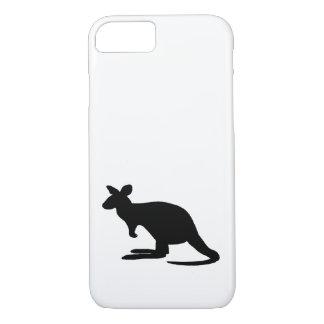 Känguru-Silhouette iPhone 8/7 Hülle