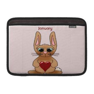 Kaninchen Birthstone MacBook Sleeve