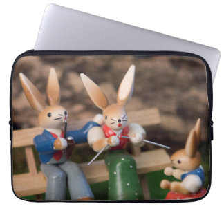 Kaninchen-Familie Ostern Laptopschutzhülle