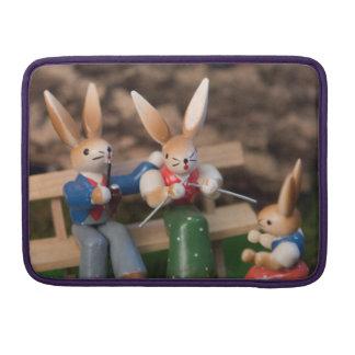Kaninchen-Familie Ostern MacBook Pro Sleeve