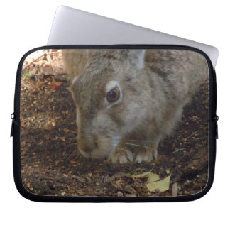 Kaninchen-Graben Laptopschutzhülle