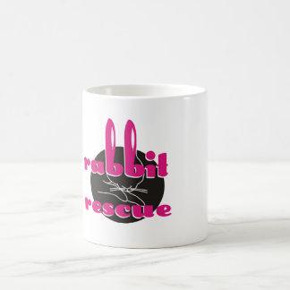 Kaninchen-Rettungs-Logo-Tasse Kaffeetasse