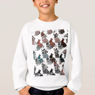 Kaninchen Sweatshirt