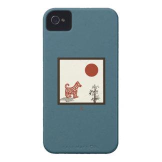 Kanji-Hundefliese iPhone 4 Cover