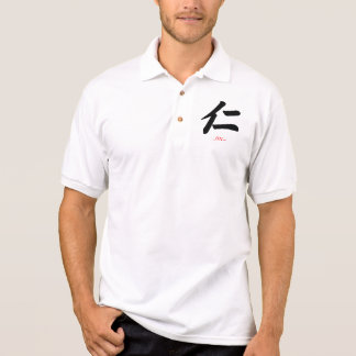 KANJI Symbol-Charakter (JIN) Polo Shirt