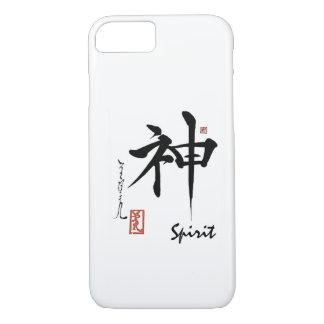 Kanji-Symbol GEIST japanische chinesische iPhone 8/7 Hülle