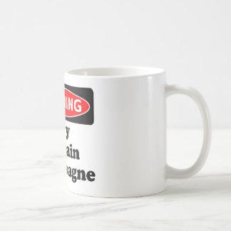 Kann Champagne enthalten Kaffeetasse